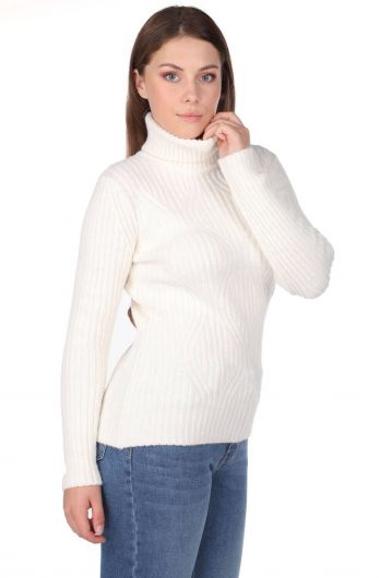 MARKAPIA WOMAN - Turtleneck Knitwear Sweater (1)