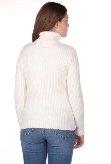 Turtleneck Knitwear Sweater - Thumbnail