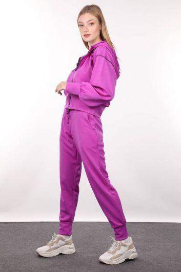MARKAPIA WOMAN - Женский спортивный костюм Neon Lila Jogger (1)