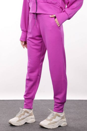 MARKAPIA WOMAN - Женские спортивные брюки Neon Lila Jogger (1)