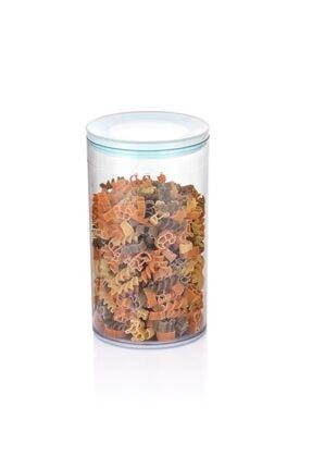 Transparent Storage Box With Non-Slip Base 1,3 lt - Thumbnail