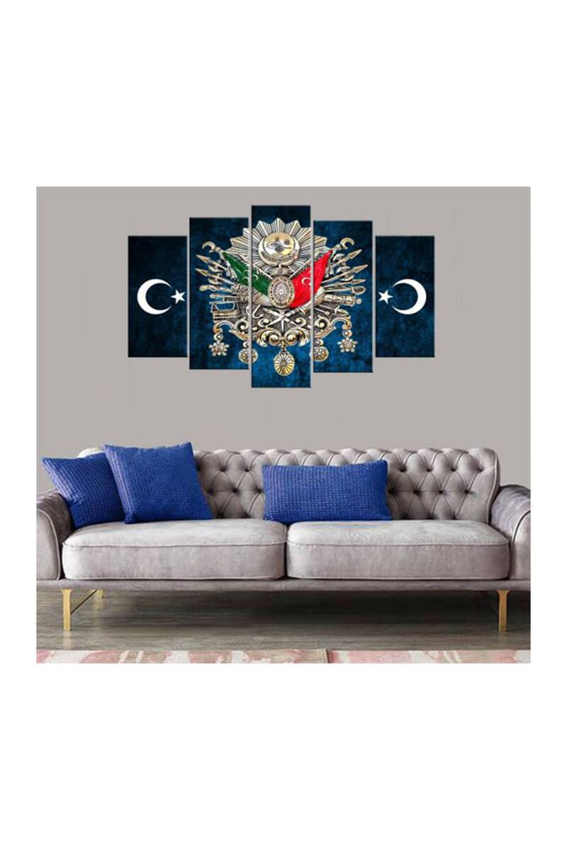 Герб Османской империи, стол из 5 предметов из МДФ
