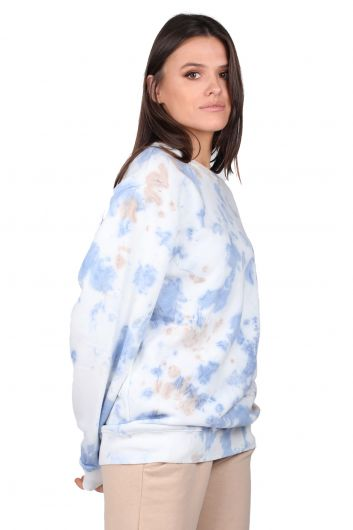 MARKAPIA WOMAN - Oversized Batik Color Women's Sweatshirt (1)