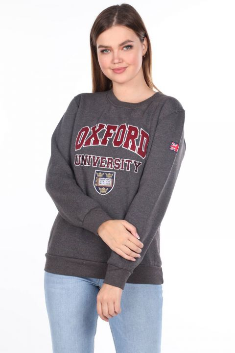 Oxford University Applique Fleece Sweatshirt