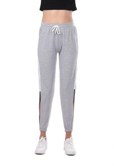 MARKAPIA WOMAN - Женские спортивные брюки Markapia с декольте сбоку (1)