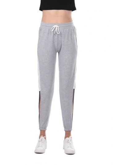 MARKAPIA WOMAN - Markapia Women's Side Cleavage Sweatpants (1)