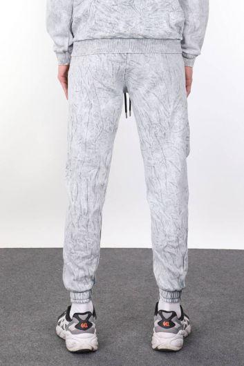 MARKAPIA MAN - Мужские серые спортивные штаны с карманом (1)