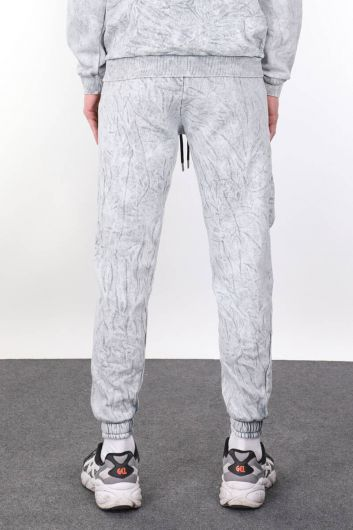 MARKAPIA MAN - Men's Gray Sweatpants With Pocket (1)