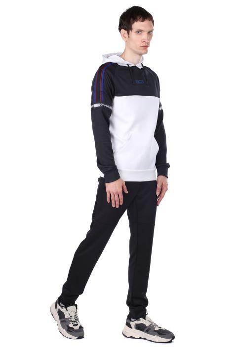 Комплект спортивного костюма с частичным капюшоном