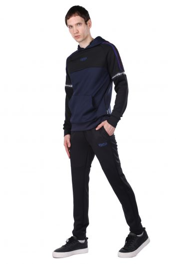 Комплект спортивного костюма с частичным капюшоном - Thumbnail