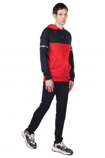 Partial Hooded Tracksuit Set - Thumbnail
