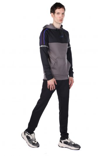 STATUS - Partial Hooded Tracksuit Set (1)