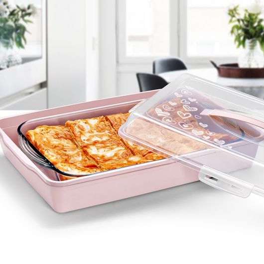 Pasta Börek Saklama ve Taşıma Kabı - Thumbnail