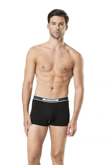 Pierre Cardin - Pierre Cardin Black-Gray Men's Stretch Boxer 6 Pieces (1)