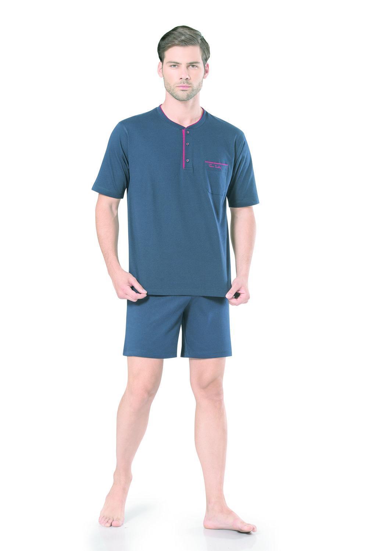Pierre Cardin Erkek Kısa Kollu Penye Pijama
