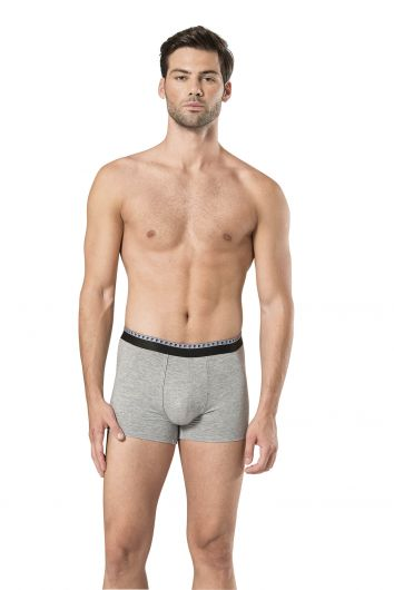 Pierre Cardin Men's Black & Gray Stretch Boxer 6 Pieces - Thumbnail