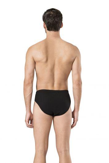 سروال داخلي أسود من بيير كاردان للرجال 9 قطع - Thumbnail