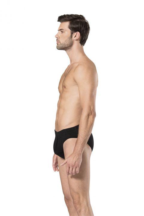 Pierre Cardin Men's Black Slip Underpants 9 Pieces