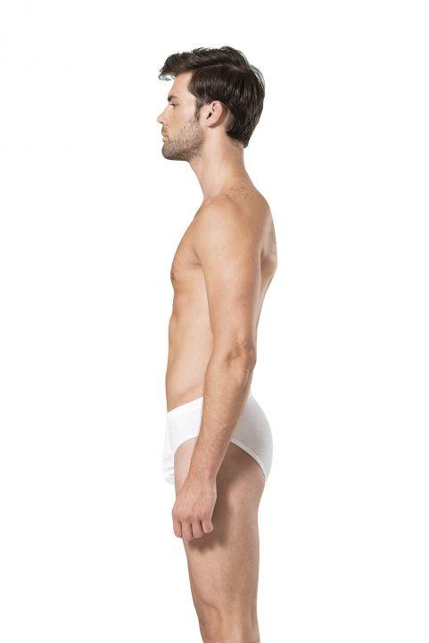 سروال داخلي أبيض من بيير كاردان للرجال - 9 قطع