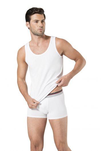 Pierre Cardin Men's Stretch Undershirt Boxer Set3 Pieces - Thumbnail