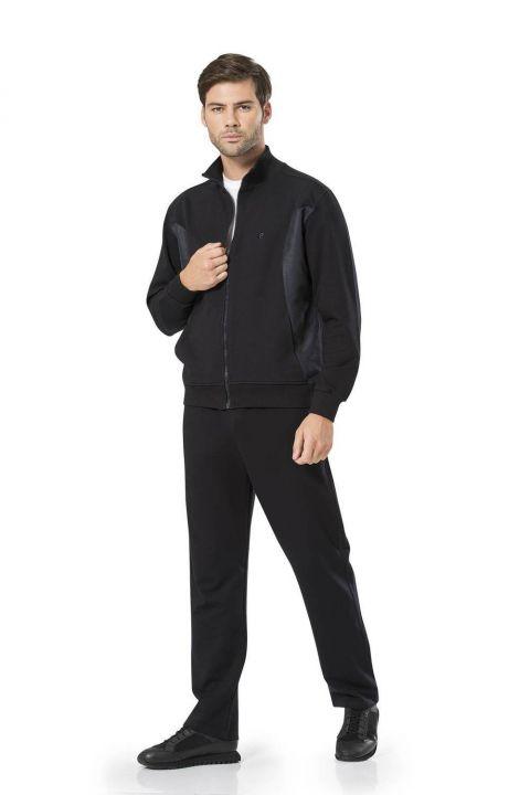 طقم بدلة رياضية بيير كاردان بسحاب للرجال