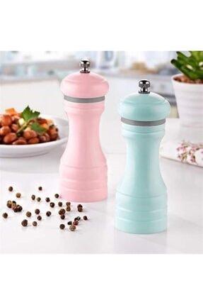 Plastik Tuz-Karabiber Değirmeni (18 cm) - Thumbnail