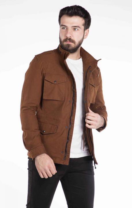 Pocket Detailed Men's Jean Jacket