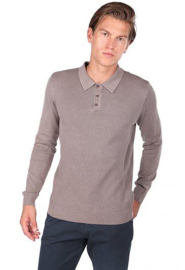 Polo Yaka Triko T-Shirt - Thumbnail