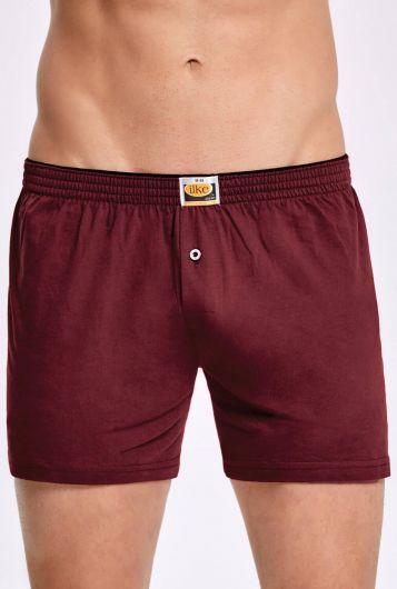 İLKE İÇ GİYİM - Principle 011 Plain Towel Waist Men's Boxer5 Pieces (1)