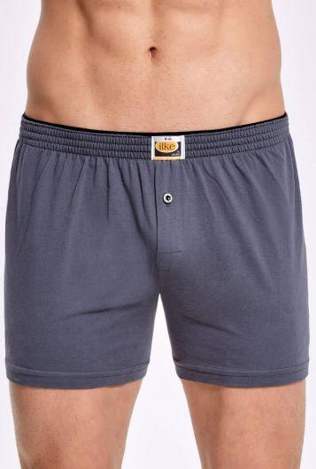 Principle 011 Plain Towel Waist Men's Boxer5 Pieces - Thumbnail