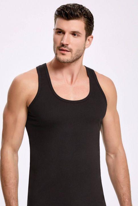 Principle 1002 Black Single Jersey Male Athlete3Pieces