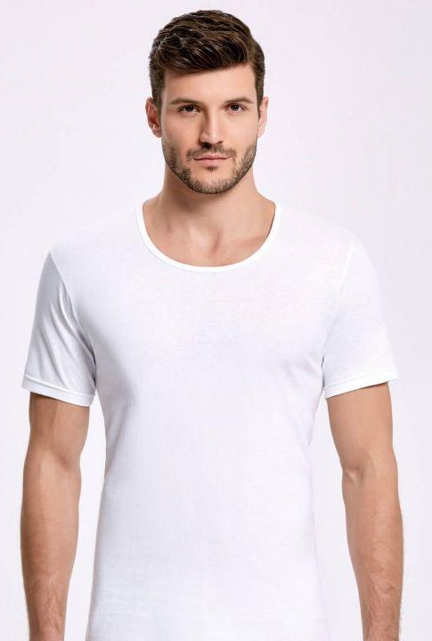Principle 1003 White Male Athlete Undershirt5 Pieces