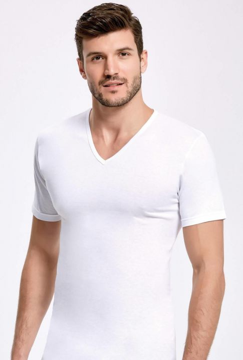 Principle V-Neck Sleeved Athlete