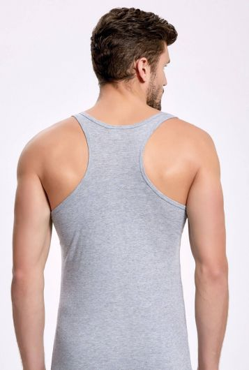 İLKE İÇ GİYİM - Principle 1121 Gray Athlete Male Athlete 5 Pieces  (1)