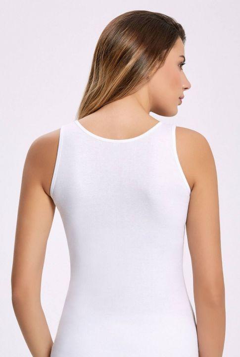 Principle 2002 Ribana Wide Strap White Female Athlete5 Pieces