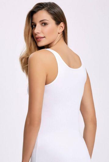 İLKE İÇ GİYİM - İlke 2014 ليكرا حزام عريض أبيض أنثى رياضية5 قطع (1)