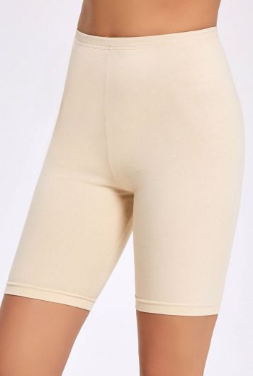 İLKE İÇ GİYİM - İlke 2251 Lycra Short Women's Tights 3 Pieces   (1)