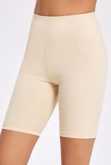 İLKE İÇ GİYİM - Principle Plain Lycra Short Tights (1)