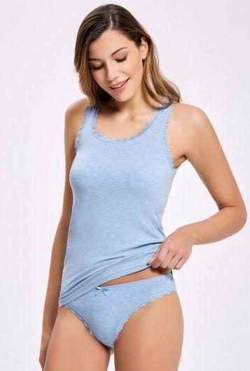 ILKE 2402 مزيج لاسيعلى نطاق واسعحزامالنساءالملابس الداخلية مجموعة5 قطع - Thumbnail