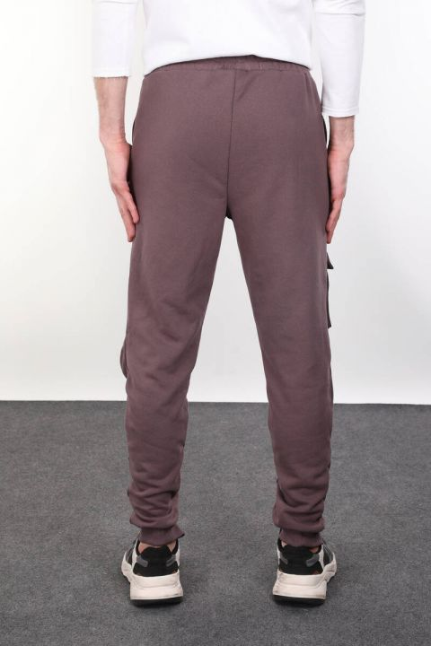 Zipper Detailed Men's Trousers With Pocket