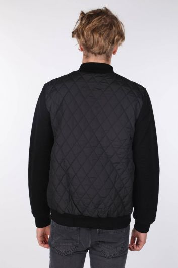 Quilted Lined Coat - Thumbnail