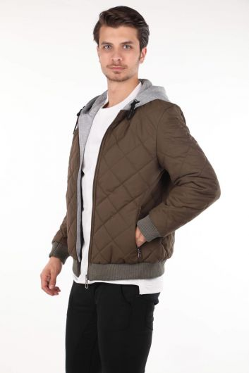 MARKAPIA MAN - Hooded Quilted Coat (1)
