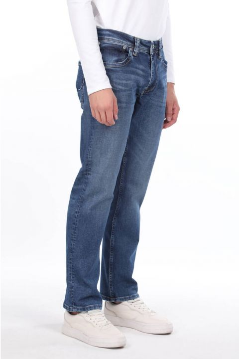 Relaxed Men's Jean Trousers