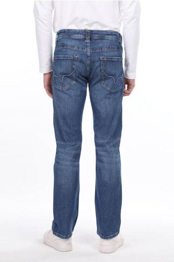 Свободные мужские джинсовые брюки - Thumbnail