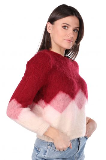 MARKAPIA WOMAN - Color Transition Yumos Women's Sweater (1)