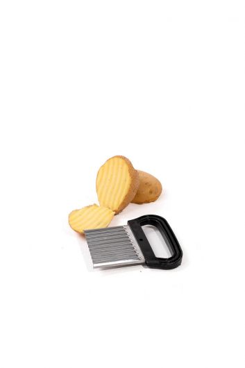 Serrated Potato Slicer Chopper - Thumbnail