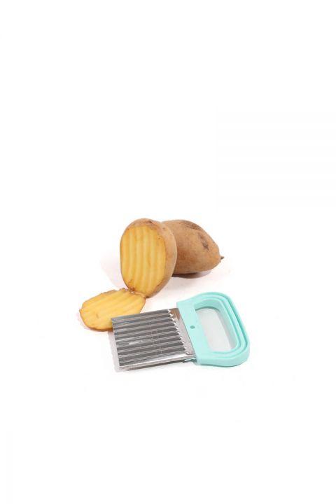 Зазубренный измельчитель для нарезки картофеля
