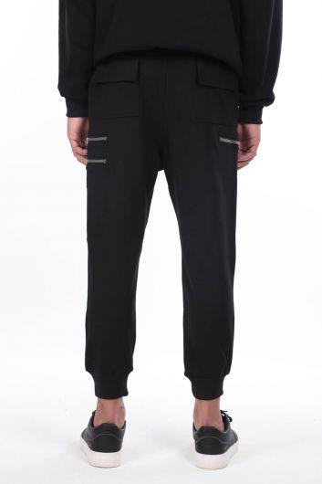 Мужские спортивные брюки с боковыми карманами - Thumbnail