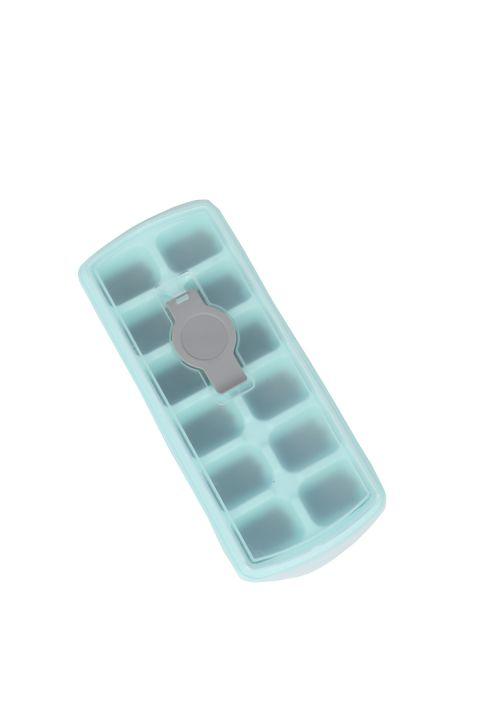 Форма для льда на силиконовой основе с крышкой