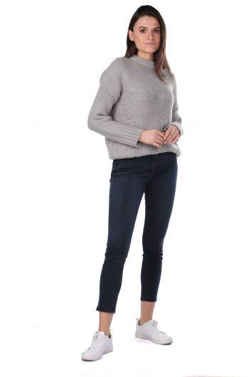 Silvery Knitwear Women Sweater - Thumbnail